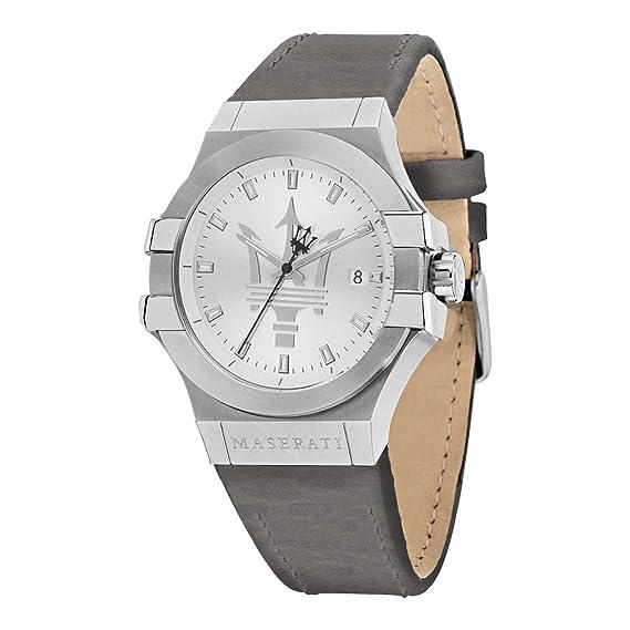 5a2d13e53dd5 MASERATI POTENZA relojes hombre R8851108018  Amazon.es  Relojes