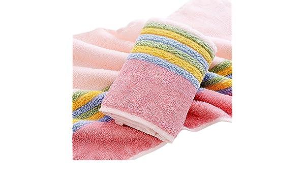 2 piezas color tiras algodón ecológico Juego de toallas de mano (13 x 30 pulgadas: Amazon.es: Hogar