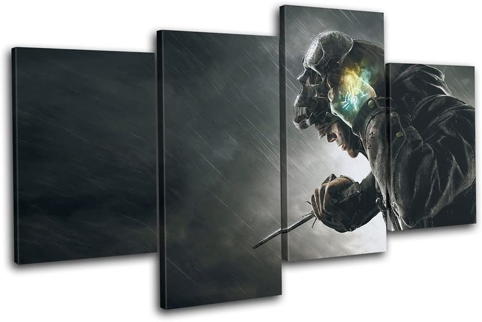 Bold Bloc Design - Dishonored 2 XBOX ONE PS4 Corvo Gaming 160x90cm ...