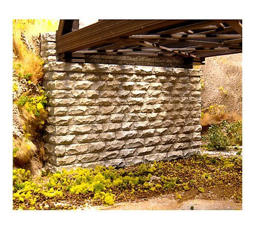 Cut Stone Bridge (Chooch Enterprises HO Scale Double Cut Stone Bridge Abutment)