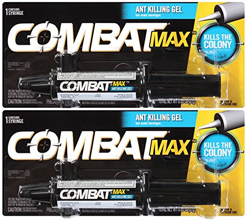 - Combat 023400044542 Max, Ant Killing Gel, 27 Grams (2 Pack).