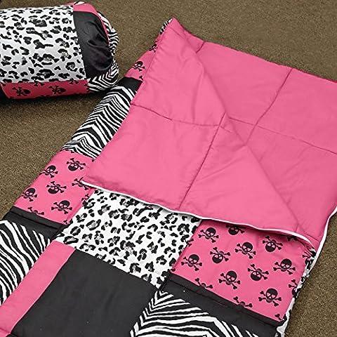 Veratex Sassy Patch Polyester Sleeping Bag with Storage (Baby Mammoth Mummy)