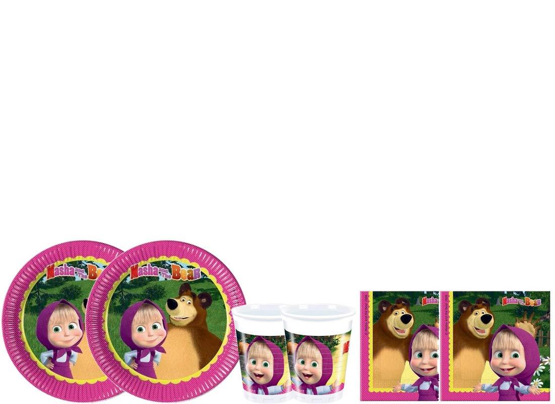 pro cos Kit - A Fiesta de cumpleaños de Masha y el Oso ...