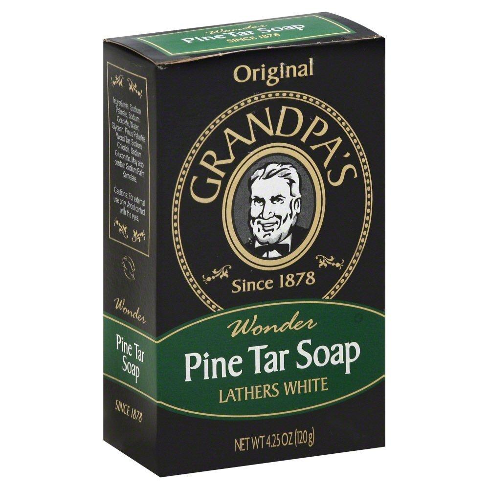 Grandpas Soap Bar Pine Tar