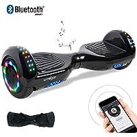 "Windgoo Hoverboard, 6.5"" Self Balance Scooter mit Bluetooth Lautsprecher, LED Lights Elektro Scooter E-Skateboard"