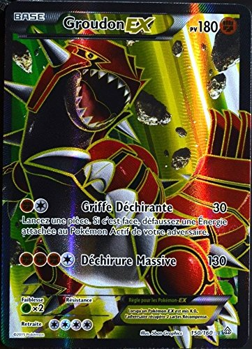 Carte pokemon ex full art groudon - Carte pokemon ex ...