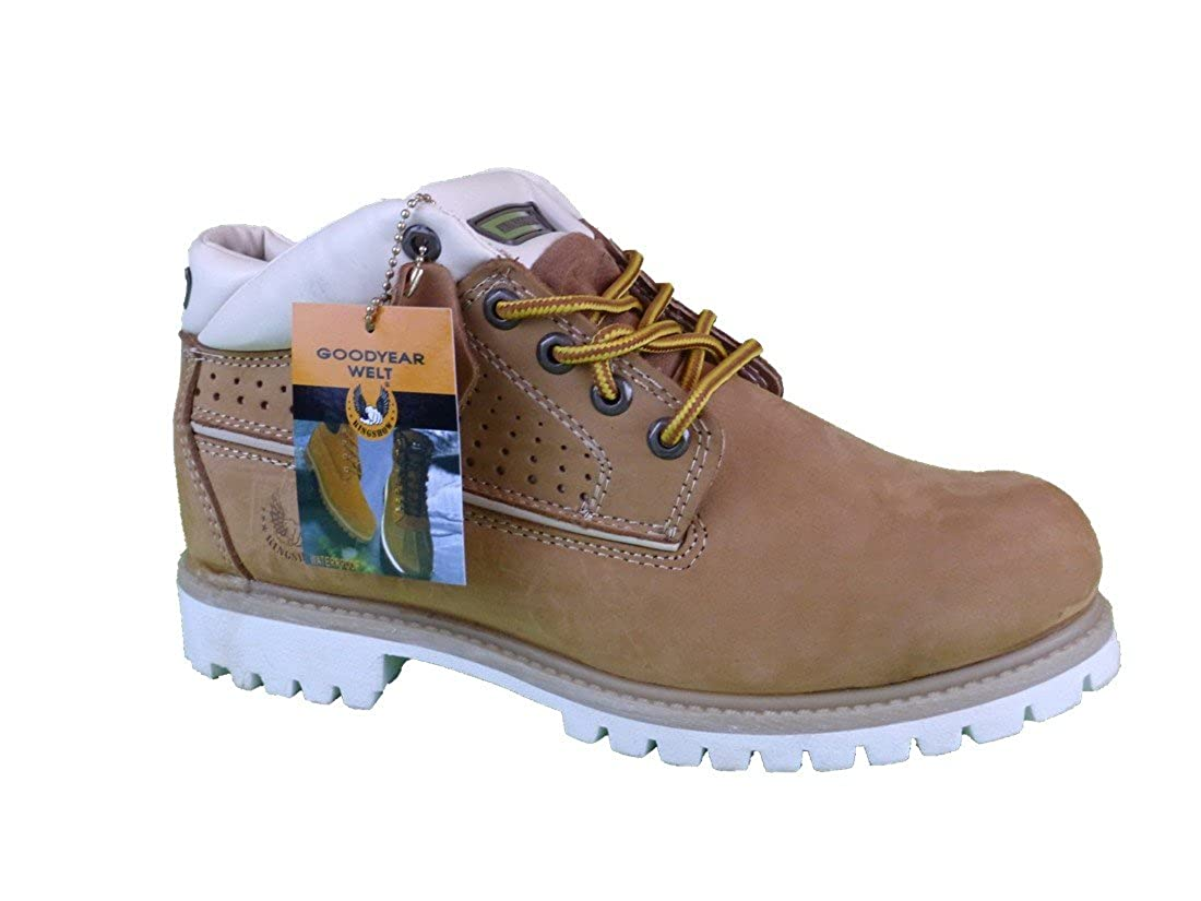 HDP KINGSHOW Men Winter Premium Oxford Snow Leather Boots