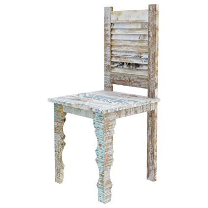 Peachy Amazon Com Rustic Solid Reclaimed Wooden Modern Antique Machost Co Dining Chair Design Ideas Machostcouk