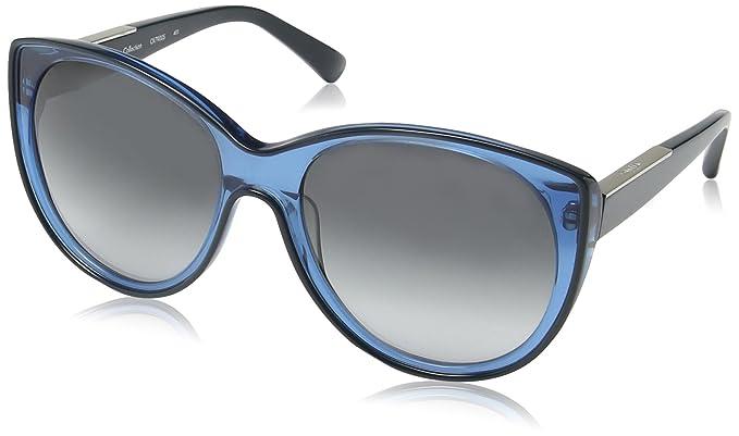 online retailer e6cd5 f7194 Calvin Klein - Occhiali da sole CK7900 Wayfarer, 403 Crystal ...