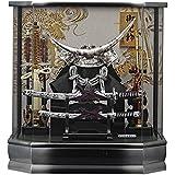 五月人形 ケース飾り アクリルケース 兜飾り コンパクト 兜 伊達政宗 兜飾り 165-744