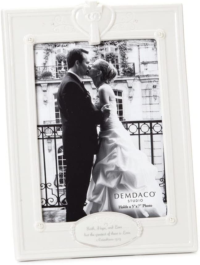 Amazon Com Demdaco From This Day Forward Faith Hope And Love Frame 5 By 7 Inch Single Frames