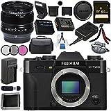 Fujifilm X-T20 Mirrorless Digital Camera (Black) 16542490 XF 14mm f/2.8 R Ultra Wide-Angle 16276481 Bundle