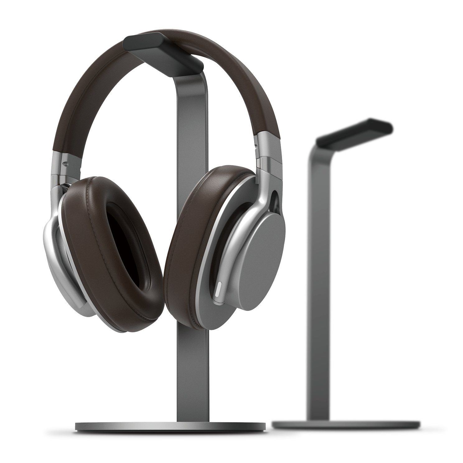elago H Stand [Dark Gray] - [Premium Aluminum][Scratch-Free Padding][Perfect Height] Gaming and Audio Headphones by elago