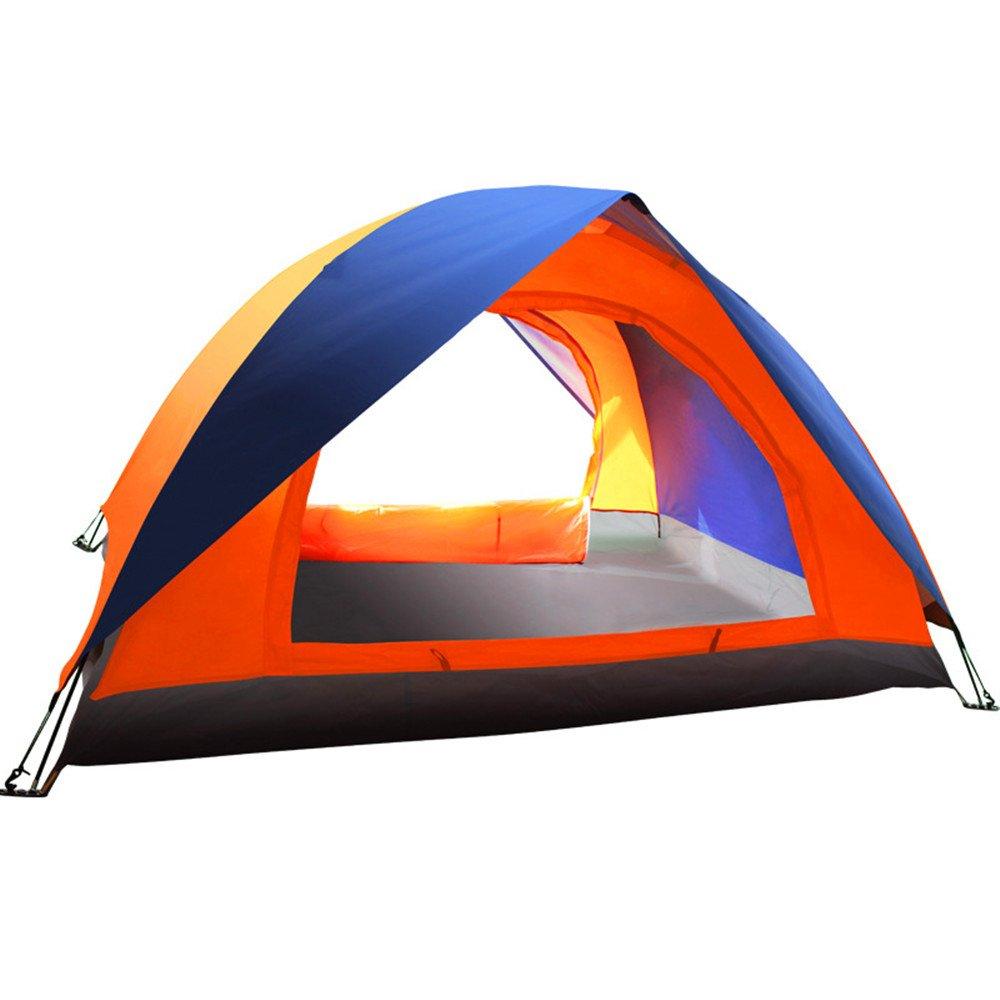 QAR Doppeltes Im Freien Doppeltes Geöffnetes Zelt des Offenen Touristenzeltes Zelt