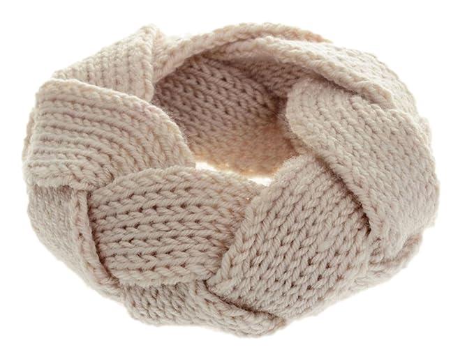DELEY Donne Ragazze di Inverno Twist Archetto Maglia Crochet Fascia per  Capelli Avvolgere la Testa Headwarmer 64b1230bb64c