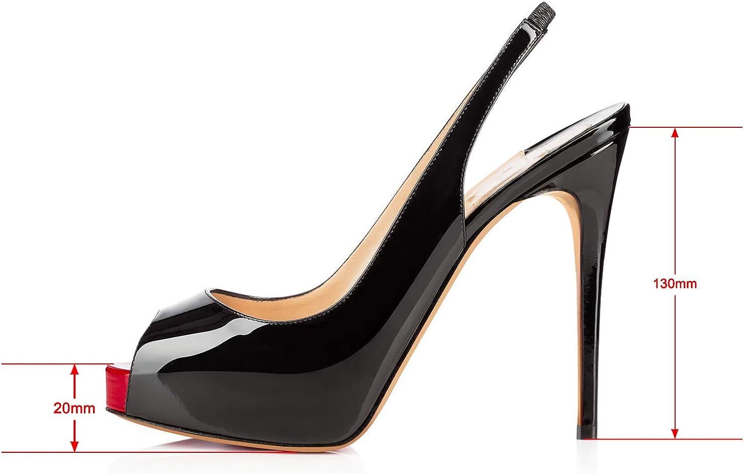 : Sandalias de tacón alto para mujer con
