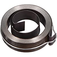 uxcell Drill Press Return Spring, Quill Spring Feed Return Coil Spring Assembly, 5Ft Long, 46 x 12 x 0.4mm