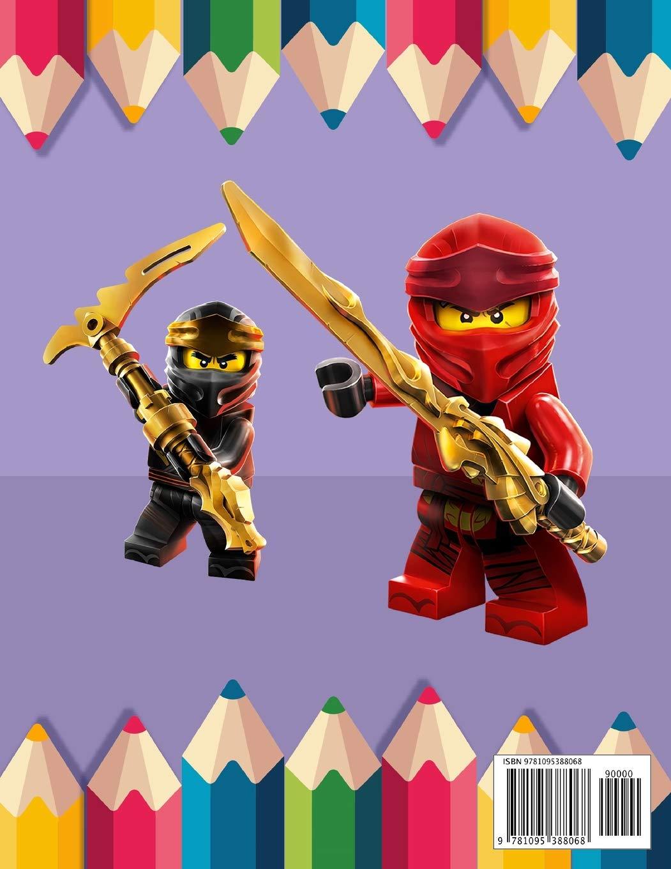 Amazon.com: Lego Ninjago Coloring Book: Lego Ninjago Jumbo ...