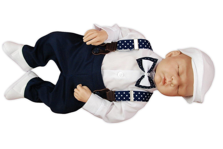 Izabell - Costume de baptême - Cocktail - Bébé (garçon) 0 à 24 mois bleu  bleu foncé 6 mois  Amazon.fr  Vêtements et accessoires 3fb359b4fdf