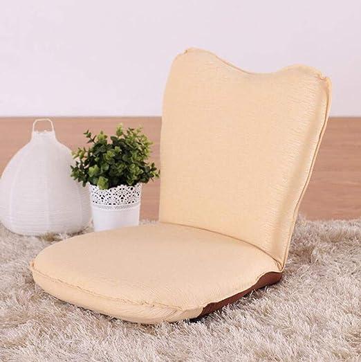 Plegable sofá perezoso, versátil, cómodo cojín, sofá pequeño ...