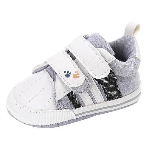 Zapatillas Bebé-Niños, Bluestercool Zapatillas de Estar por casa para Bebés Zapato de Lona