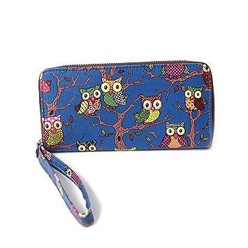 boutique pour officiel choisir l'original Vente LAAT Femmes Mode Hibou Porte-Monnaie en Cuir Zip ...
