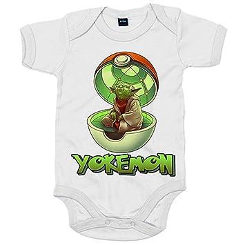 Body bebé Yokemon - Blanco, 6-12 meses: Amazon.es: Bebé