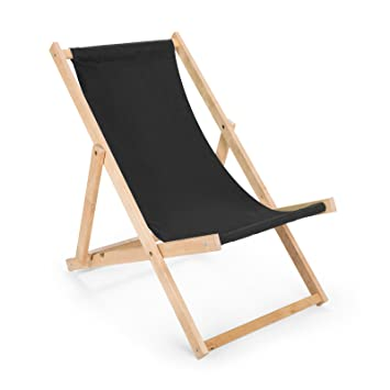 Transat en bois - Chaise de plage - Chaise longue en bois - Chaise ...