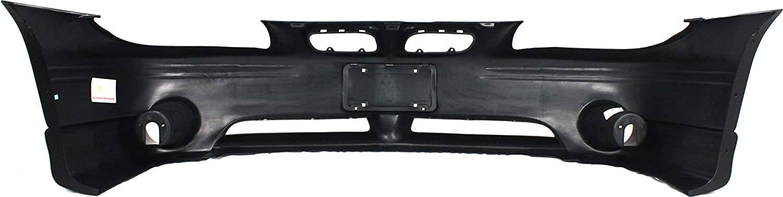 Front Bumper Cover Compatible with 1997-2003 Pontiac Grand Prix Primed GT//GTP Models//SE 2nd Design