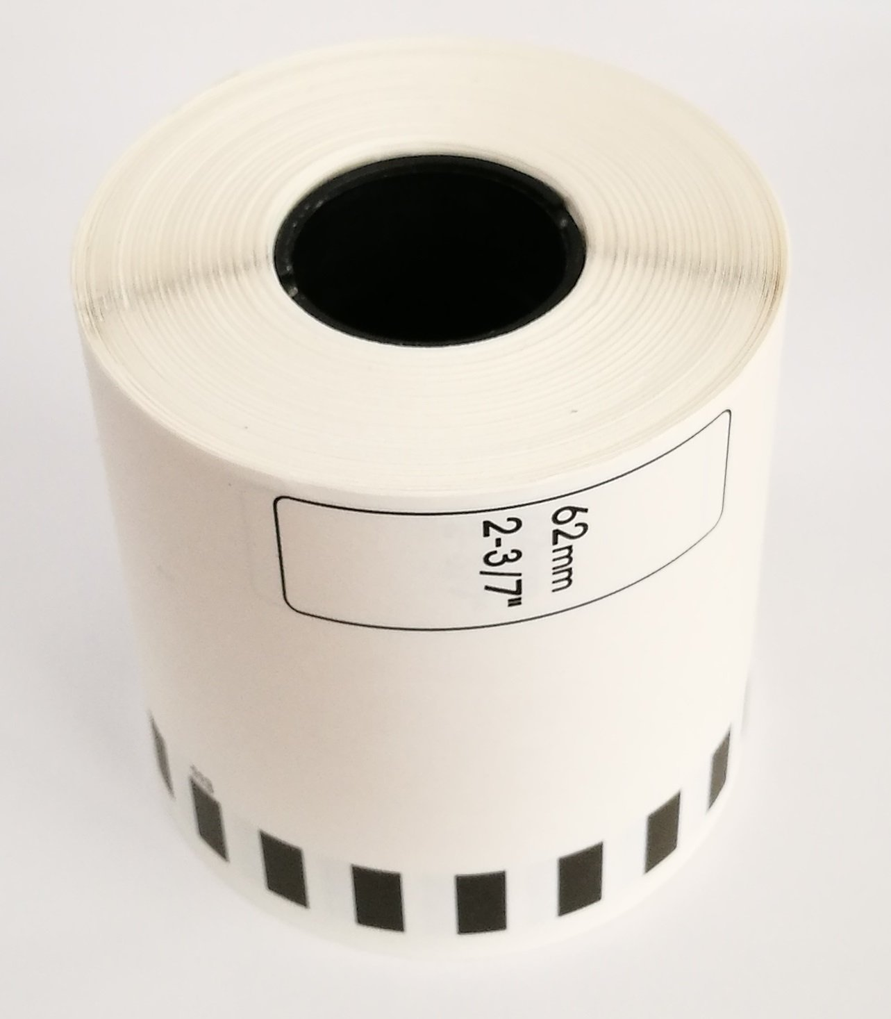 Brother-Compatible DK2113 DK-2113 Black on Clear Continuous Length Film Tape (10 rolls)