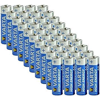 Amazon.com: Varta AA Alkaline Batteries - 40 Pack: Health