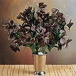 144-Wholesale-Artificial-Silk-Amaryllis-Flowers-Wedding-Vase-Centerpiece-Decor-Chocolate