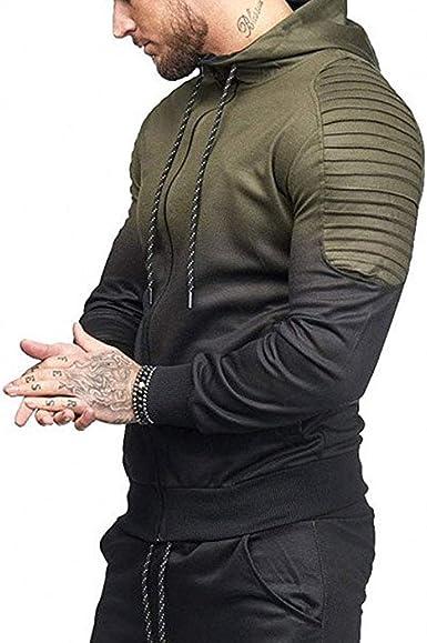 SLTX Men's Casual Hoodies Zipper Cardigan Mens Fashion