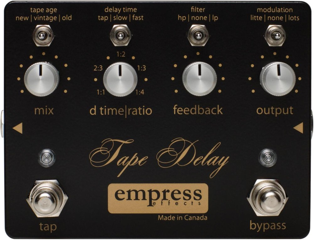 代引き人気 Empress Effects(エンプレス)Tape Delay【並行輸入品 B00BRNHTUS Empress】 B00BRNHTUS, 激安正規 :d6ed90a5 --- vezam.lt