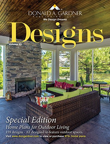 Designs - Home Plans for Outdoor Living