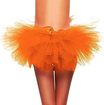 Mini falda de 5 capas sexy para mujer, fiesta, disfraces, para ...
