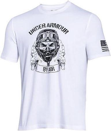 NEW Under Armour Mens Size Large L Blue HeatGear Tank Top Stretch USA Flag Shirt