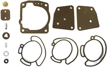 0336842 Carburetor Repair Kit includes Needle Valve Seat Set /& 0343512 0335070