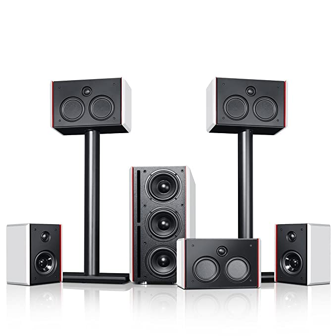 Teufel System 4 THX Compact 5.1-Set Cinema: Amazon.de: Elektronik