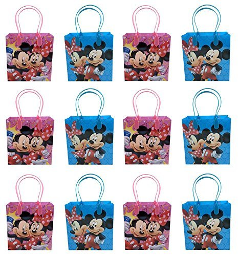 24PC DISNEY MICKEY MINNIE MOUSE GOODIE BAGS PARTY FAVOR BAGS GIFT BAGS (Best Minnie Mouse Party)