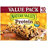 in bar protein bars - Nature Valley Chewy Granola Bar, Protein, Peanut Butter Dark Chocolate, 10 Bars - 1.4 oz