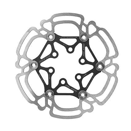 Freno de disco mecánico Freno de disco, freno de bicicleta Dics hidráulicos MTB flotante Rotor de ...