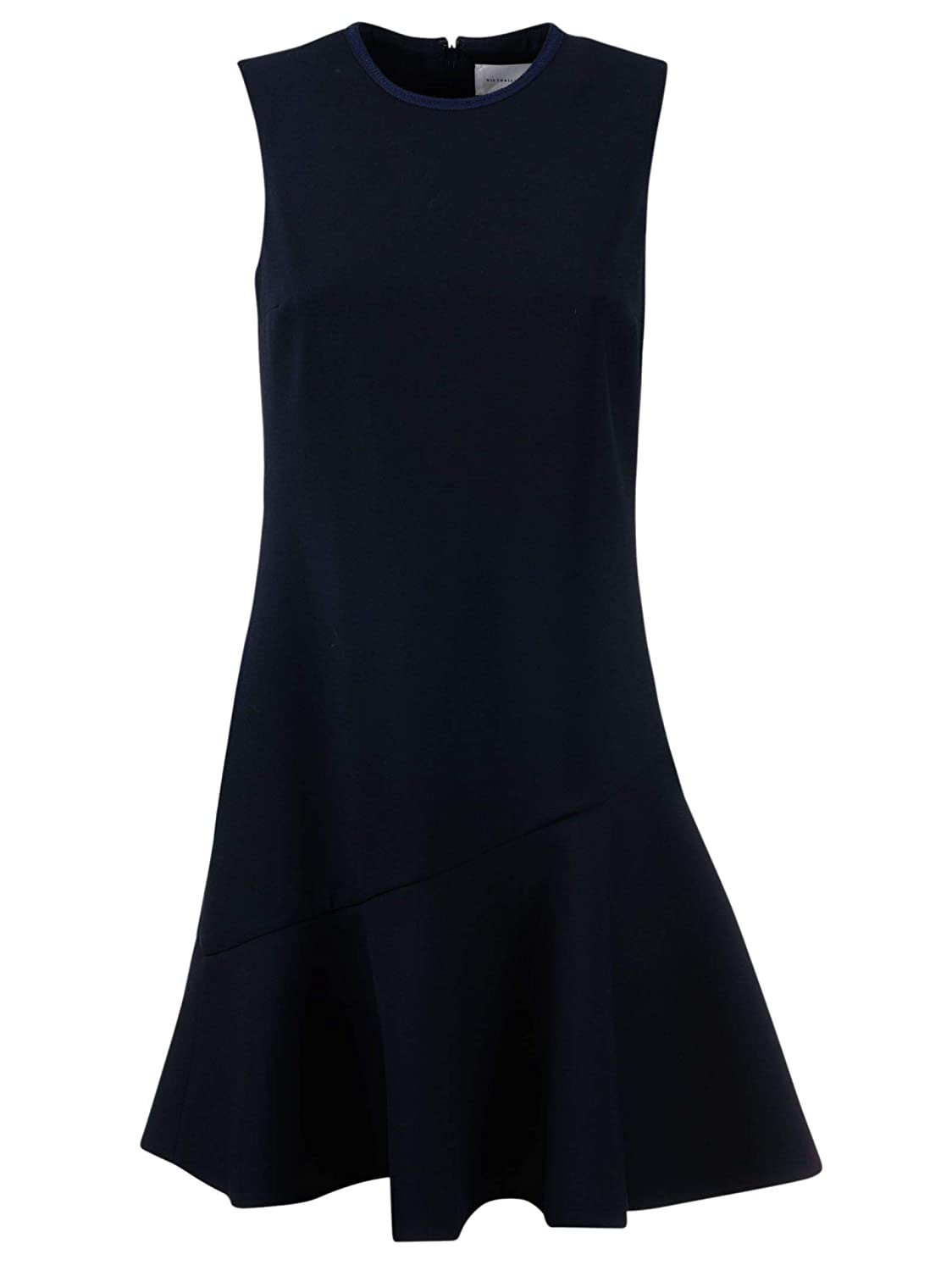 Victoria Beckham Women's DRVV552MIDNIGHT Black Polyester Dress