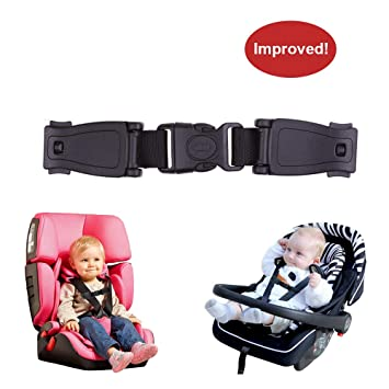 Britax  Car Seat Harness part Clip safety chest baby black plastic toddler new