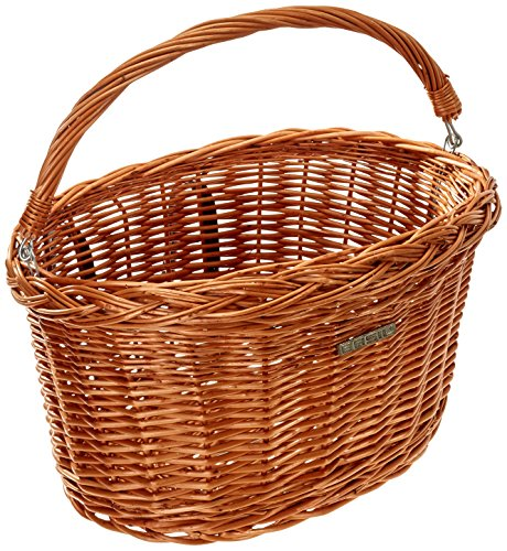 Bell Basil Detroit Wicker Oval Bicycle Basket, Natural by Basil
