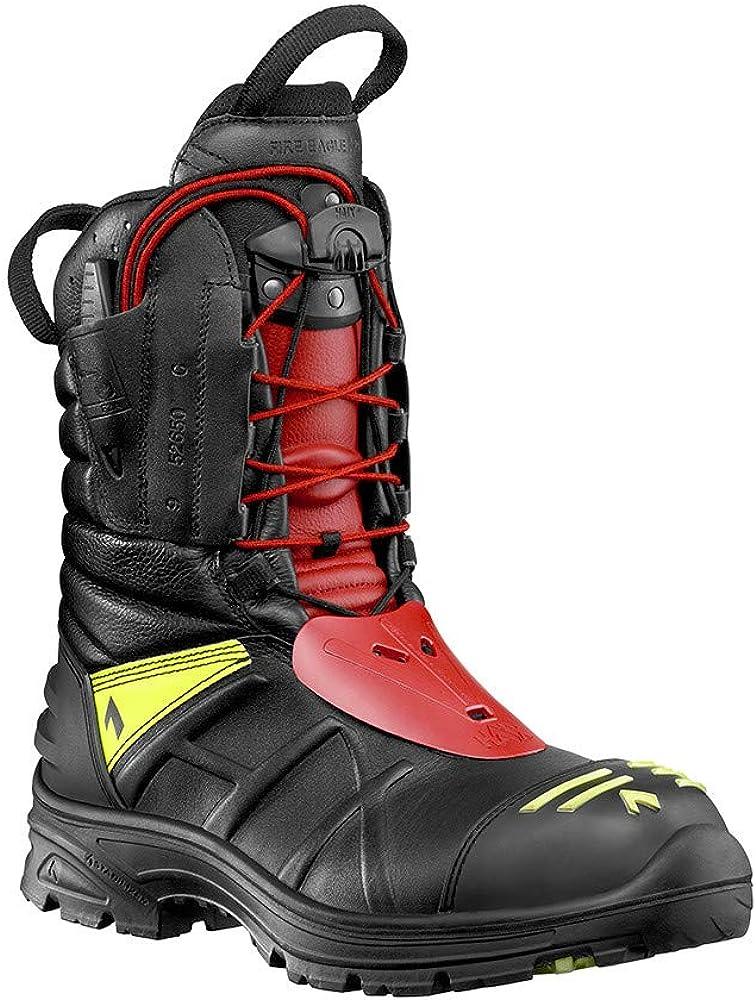 Haix Fire Eagle Pro Bottes athlétiques pour Sapeurs Pompiers avec Protection anticoupure de Classe 1
