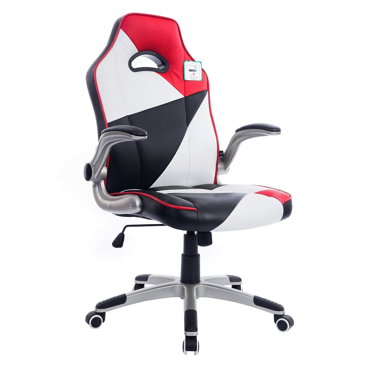 High Back Racing Gaming Sport PU Leather Swivel fice Chair with