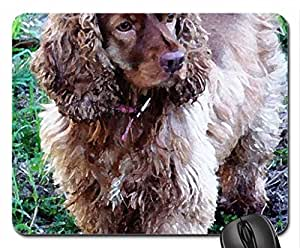 Zoey Mouse Pad, Mousepad (Dogs Mouse Pad, 10.2 x 8.3 x 0.12 inches)