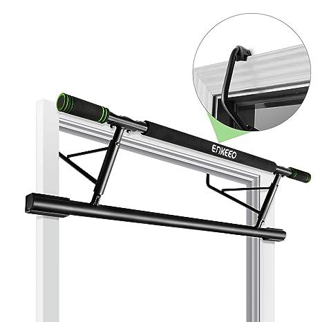 Ultrasport Set Training da Porta 4 in 1 Allenamento della Parte Superiore del Corpo 100/% Metallo Barra per Sollevamento