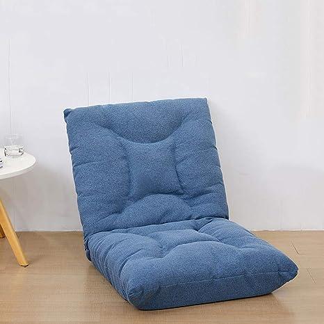 YHSGD Juego de Silla de Piso Lazy Couch Reclinable Plegable ...